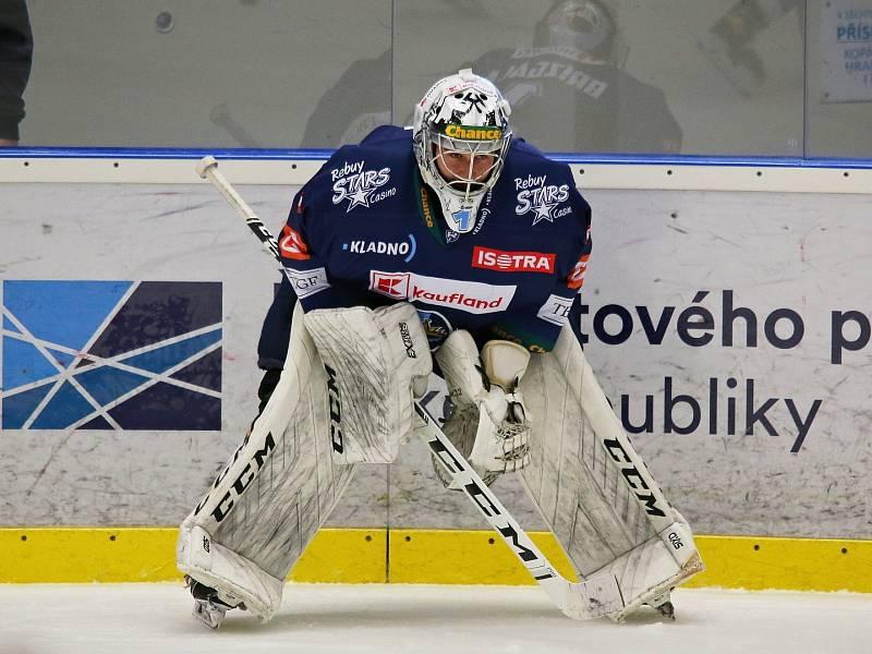 Adam Brízgala // Rytíři Kladno - HC Dukla Jihlava 1:2, Finále play off Chance ligy, 25. 4. 2021