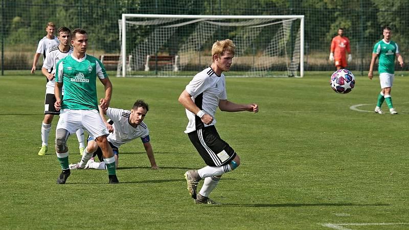 TJ Hřebeč - SK Lhota 6:2 (1:2), KP 21. 8. 2021