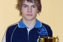 Slánský stolní tenista Stanislav Kučera