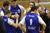 Volejbalisty Kladna čeká v sobotu rozhodující zápas semifinále play-off proti Ostravě.