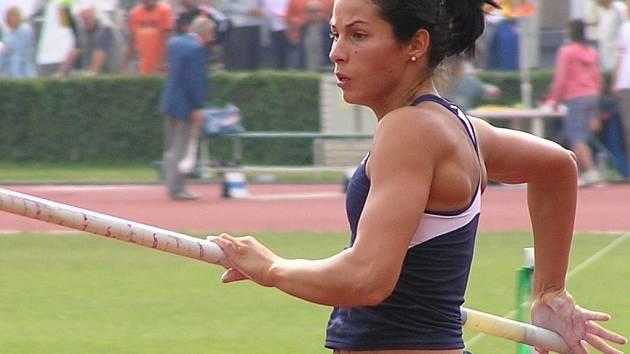 Na finále extraligy družstev by neměla scházet ani stříbrná medailistka z MS Kateřina Baďurová.