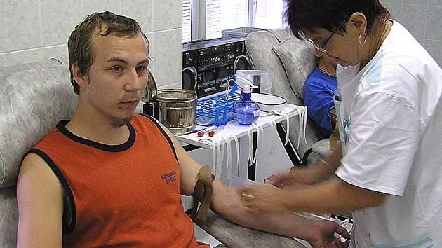 Pavel Langpaul byl jedním z 11 studentů Střední odborné školy, Středního odborného učiliště a Učiliště Kladno Dubská, kteří se rozhodli stát novými dárci krve.