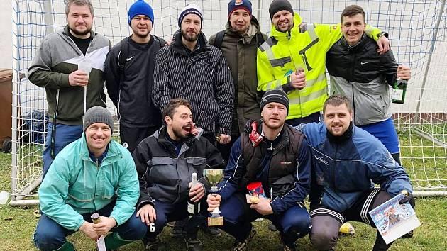 Repre Hrdlív, vítěz Silvestrovského turnaje.