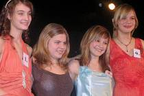 Všechny čtyři zúčastněné dívky (zleva)  Martina Vaňková, Kristýna Hrbková, Michaela Davidová a Natálie Frycová si zaslouží pochvalu za  své výkony a příjemný večer pro diváky.