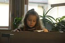 I nejmladší čtenáře můžeme nalézt ve studovně Středočeské vědecké knihovny v Kladně. Včera se také mohli zaregistrovat  zdarma v rámci akce  Pololetní prázdniny v knihovně.