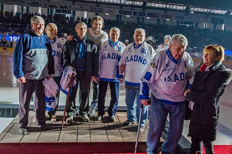 Legendy Kladna  Kulíčka, Berana, Šebka, Landu, Fröhlicha ocenil i Jaromír Jágr.