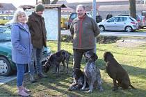 Společně se zahájením přehlídky se uskutečnil také jarní svod psů loveckých plemen.