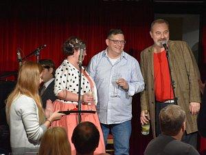 Noc divadel si návštěvníci užili společně s herci také v Kladně.