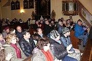 Sbor v družeckém kostele vystoupil už podruhé.