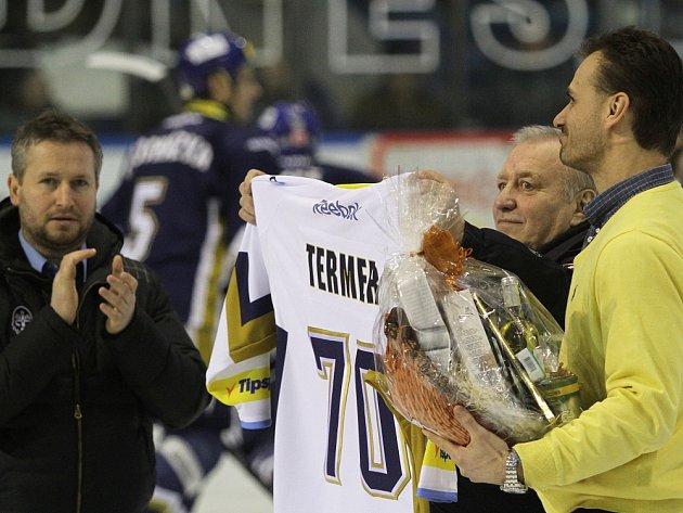 Legendární brankář Termer slaví 70! // Rytíři zdolali Slavii nejtěsnějším výsledkem 1:0 a snižují čtvrtfinálový souboj na 1:2, hráno 14. 3. 2013