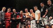 Martin Chaloupka HGRTK - Alex Kopora Hanuman Gym. Vyrovnaný souboj thaiboxu (-72,57 kg) nakonec pro Koporu. // Noc válečníků 3 - Kladno 15. 12.2011