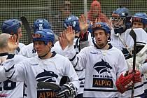 HBC Alpiq Kladno - HBC Autosklo-H.A.K. Pardubice 3:1, semifinále play off, CCM Extraliga hokejbalu 2014-2015, 9. 5. 2015