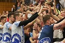 Kladno volejbal cz - Karlovarsko 3:0, semifinále EL volejbalu (stav 3:1), Kladno, 12.4.2018
