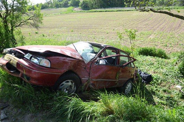 Nehoda se stala v pátek kolem deváté ráno.