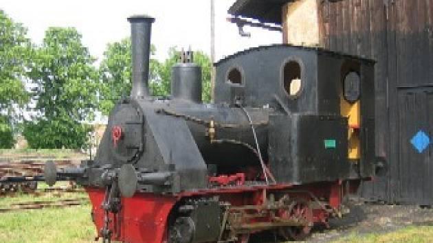 Nejmenší lokomotiva u nás.