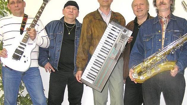 Hudebníci z kapely Krystal