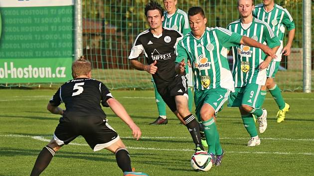 Sokol Hostouň - TJ Sokol Libiš 3:0, 2016, Divize B, 28. 8. 2016