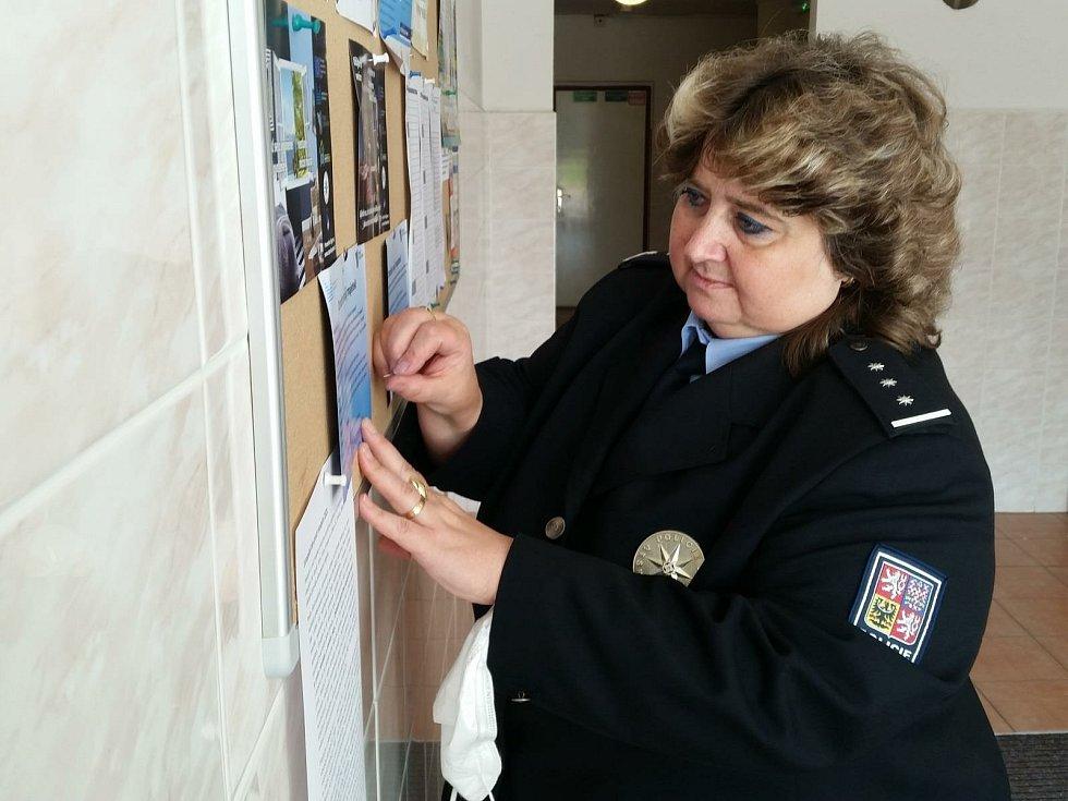 Evropský den proti vloupání připomněly policistky lidem také na Kladensku.