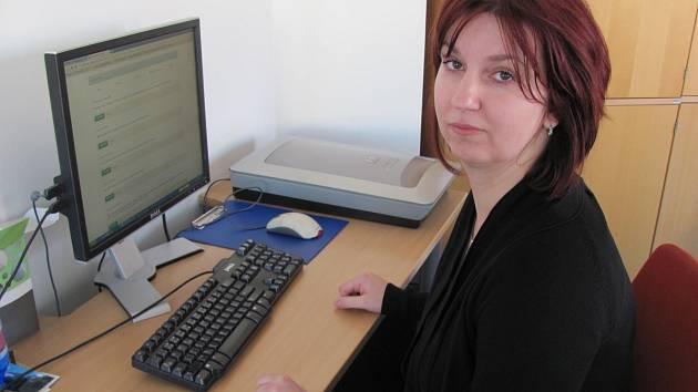 Hlavní sestra kladenské nemocnice Aneta Heřmanová.