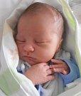 JÁCHYM NEUŽIL, SLANÝ. Narodil se 17. dubna 2017. Váha 3,46 kg, míra 52 cm. Rodiče jsou Kateřina a Jakub Neužilovi (porodnice Slaný).