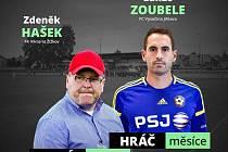 Zdeněk Hašek a Lukáš Zoubele v infografice FAČR