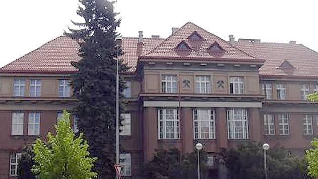 Budova Okresního soudu v Kladně.