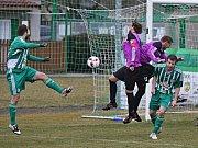 Sokol Hostouň - Tatran Rakovník 0:1, Divize B, 19. 3. 2017