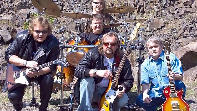 Kladenská rocková skupina Anopheles.