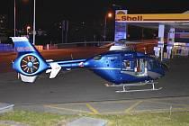 Tragická nehoda v Kladně, při které zahynul v pátek v noci chodec.