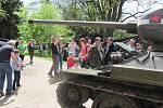 Legendární tank T-34 v akci.