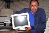 Prostřednictvím sběrných dvorů je možné se zbavit například televizorů, monitorů a dalších elektrovýrobků, které už dosloužily.