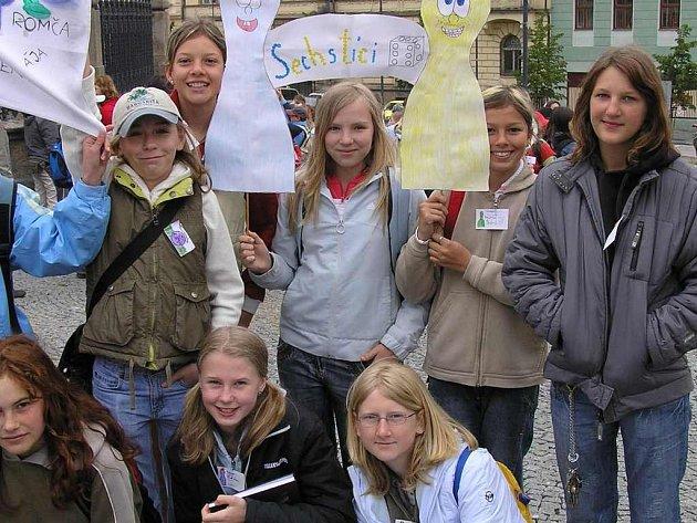 Žáci z deseti kladenských  škol se i letos sešli při soutěži Poznej Kladno.