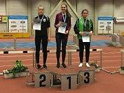 Mladí atleti AC Tepo na mítinku v Chemnitzu. Tereza Lamačová vyhrála běh na 200 m.