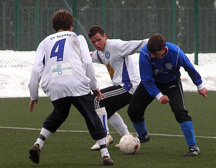 Petr Všetečka,  Huari Bambur a Michal Dochtor.