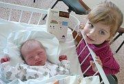 Marie Fenclová, Nové Strašecí. Narodila se 25. února 2017. Váha 2,72 kg, míra 46 cm. Rodiče jsou Karolína a Petr Fenclovi, sestra Barunka (porodnice Kladno).