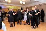 První reprezentační ples Družce se vydařil.