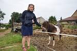 Chovatelka koní Dita Kunová.