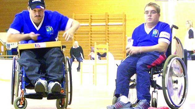 RADEK PROCHÁZKA (vpravo) z Kladna a Leoš Lacina hrají za východočeskou TJ Léčebna Košumberk. K bronzu z Pekingu přidali nyní stříbrnou medaili z Londýna.
