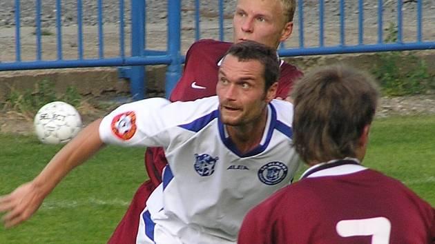 Jiří Kaciáň (v bílém).