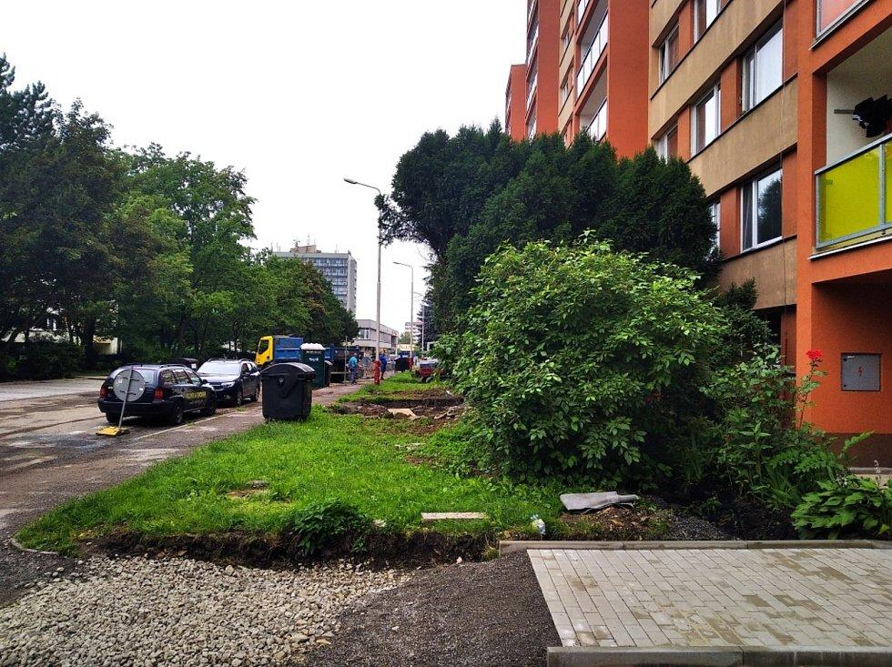 Revitalizace sídliště v Kladně na Sítné.