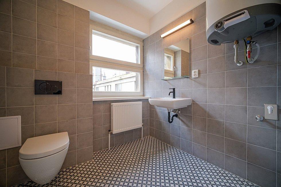 Slaný vytvořilo v budově bývalé Městské spořitelny ve Slaném sedm luxusních bytů.