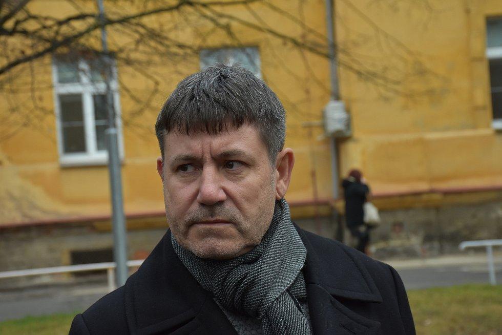 Ředitel Nemocnice Slaný Štepán Votoček.