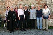 Kompletně dámské složení volební komise ve Družci.