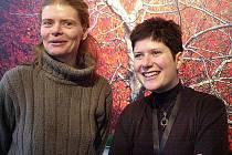Režisérka alice Nellis a herečka Zuzana Bydžovská, která v chystaném filmu Lidice ztvární jednu z rolí.