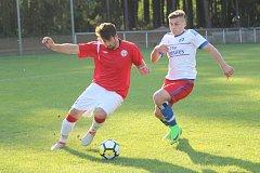 Derby mezi Lhotou a Tuchlovicemi rozhodly penalty