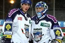 Hrávali spolu už v Litvínově, teď Martin Štěpánek i brankář Zdeněk Orct bojují za Kladno.