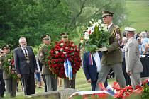 V  Lidicích se uskutečnil pietní akt k 77. výročí lidické tragédie.