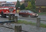 Stehelčeves zasáhla velká voda 29. června 2017, situace byla podle některých vážnější než v roce 2002.