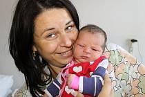 Sophie Svobodová, Louny. Narodila se 13. srpna 2013. Váha 3,14 kg, míra 50 cm. Rodiče jsou Michaela a Radim Svobodovi (porodnice Slaný).