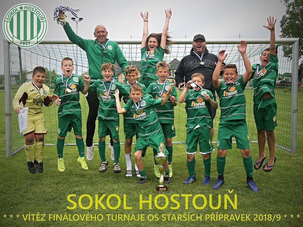 Vítězem soutěže se stal tým Sokola Hostouň  // Finálový turnaj Okresní soutěže, kategorie U11 - Unhošť 8. 6. 2019